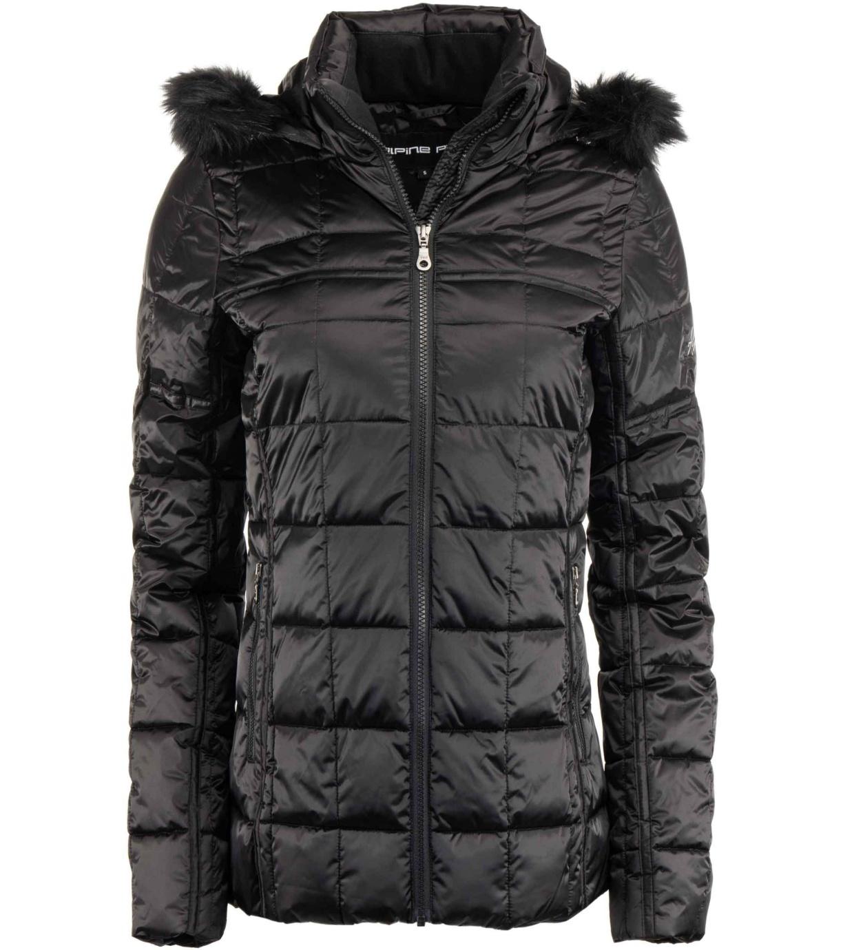 ALPINE PRO LEMEKA Dámská zimní bunda LJCS441990R černá XL