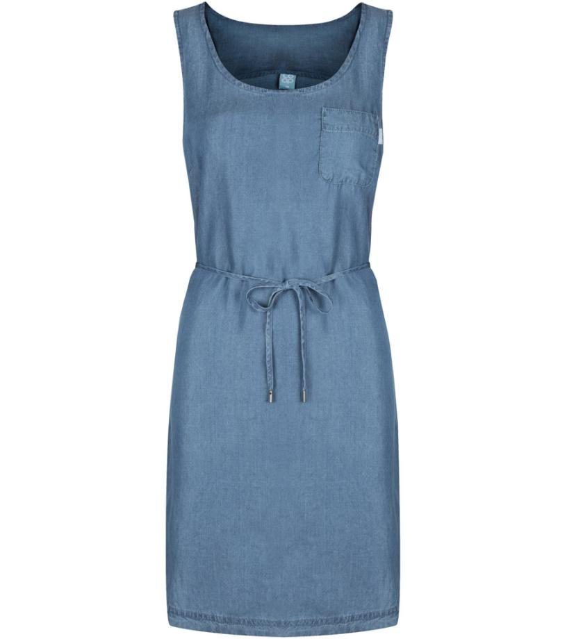 521187434ed4 LOAP NYXI Dámské šaty CLW1987L06L modrá S