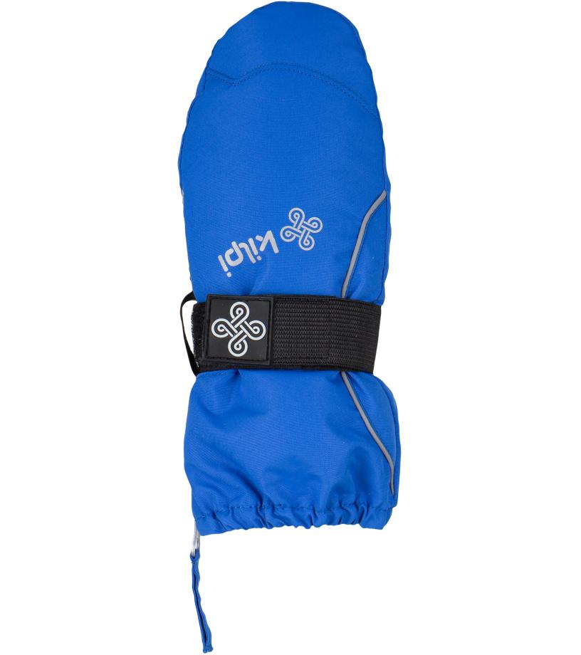 KILPI Dětské palcové rukavice BAMBIE-JB DJ9059KIBLU Modrá 3