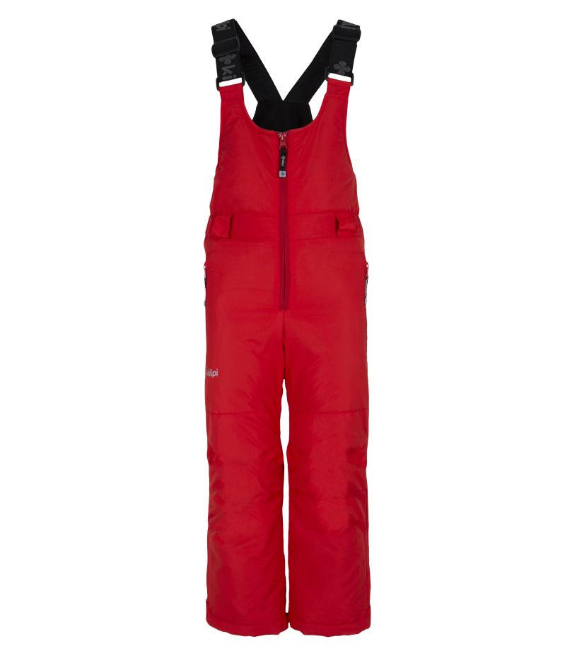 KILPI Dětské lyžařské kalhoty DARYL-JB FJ0012KIRED Červená 134