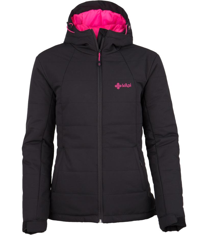 KILPI Dámský zimní kabát PARIS-W FL0045KIBLK Černá 34