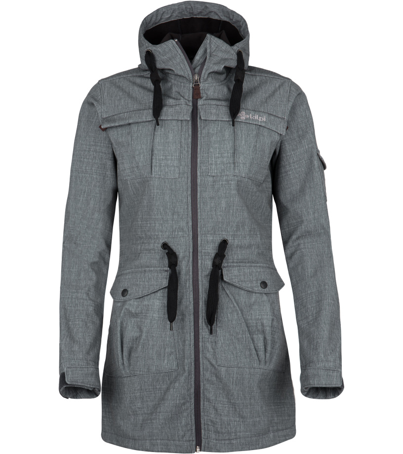 KILPI Dámský softshellový kabát LASIKA-W FL0077KIMEL Melange 36