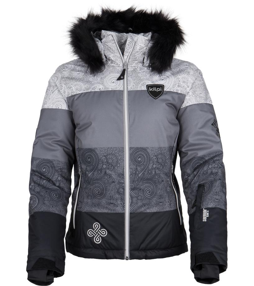 KILPI Dámská snowboardová bunda EUFANA FL0087KIBLK Černá 36
