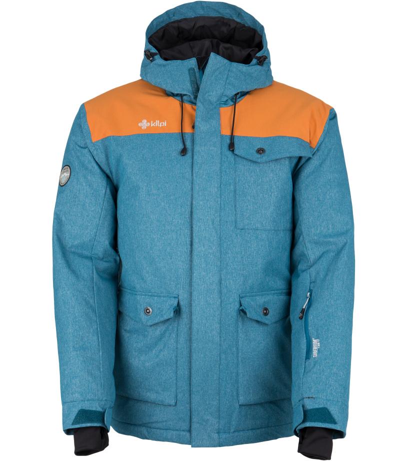 KILPI Pánská zimní bunda BAKER-M FM0022KIBLU Modrá XL