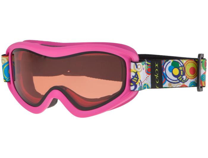 RELAX TEDDY Lyžařské brýle HTG33G růžová -