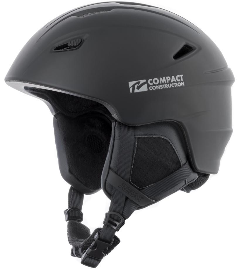 RELAX WILD Lyžařská helma RH17A černá L