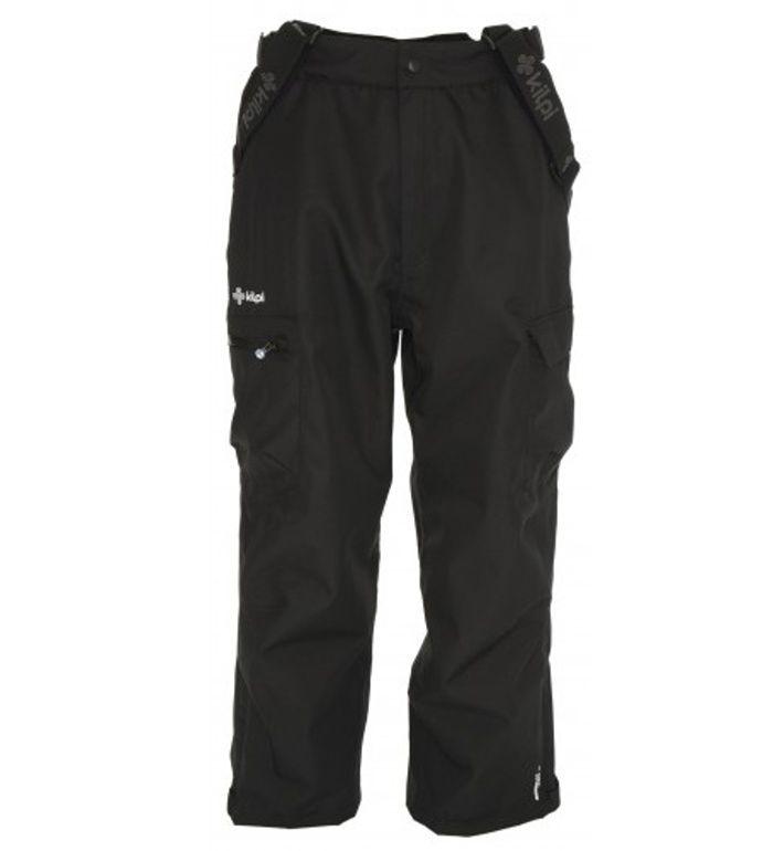 KILPI Pánské snowboardové kalhoty RUUTTILA BM0024KIBLK Černá S