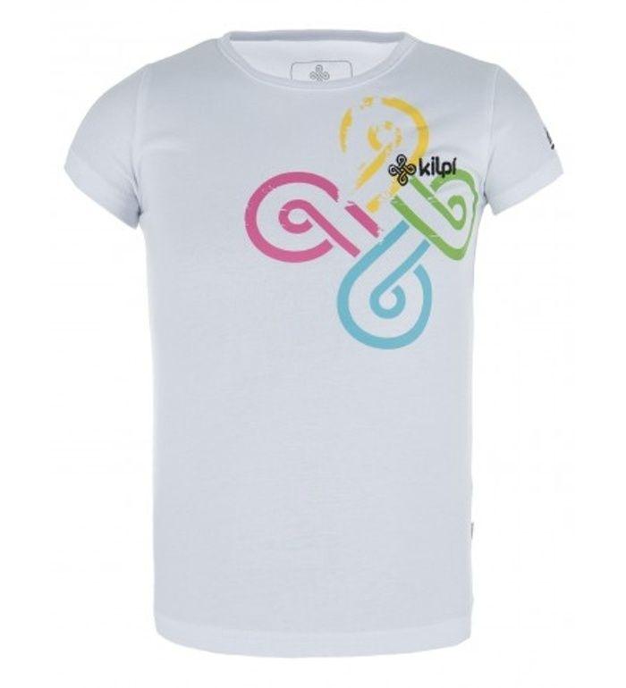 KILPI Dětské triko THEA - K CK0135KIWHT Bílá 98_104
