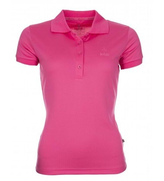 KILPI Dámské triko BIBIANA CL0020KIPNK Růžová 40