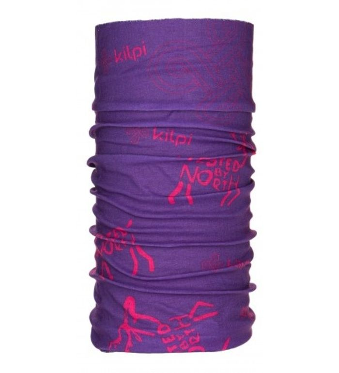 KILPI Multifunkční šátek DARLIN CU0435KIVLT Fialová UNI