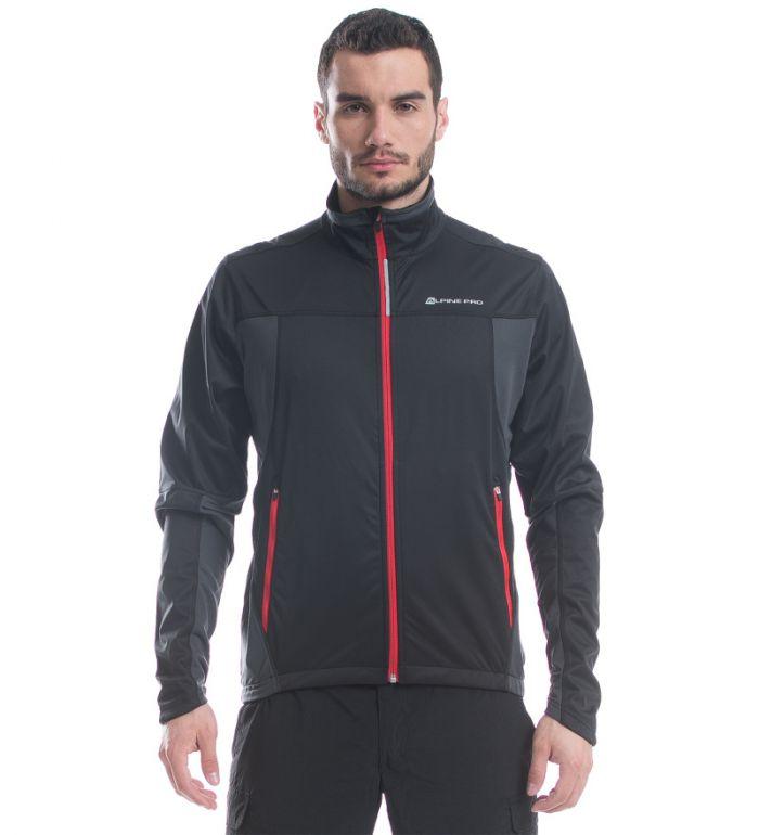 ALPINE PRO HEST Pánská bunda MJCE086990 černá