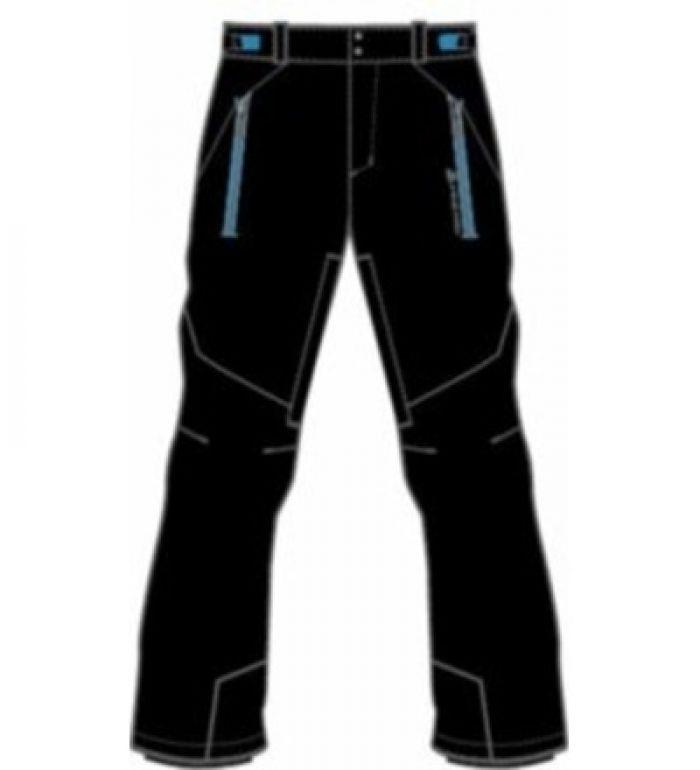 ALPINE PRO MOLINI II Pánské kalhoty MPAD061990 černá M