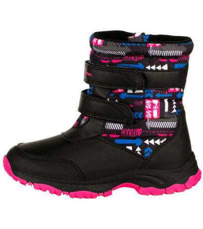 ALPINE PRO VOLOSO Dětská zimní obuv KBTS260452 růžová 27