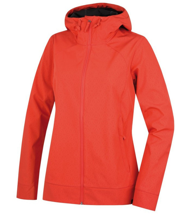 HANNAH Androma Dámská softshellová bunda 118HH0071SJ03 Hot coral 40