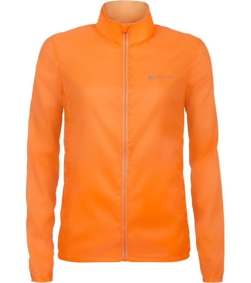ALPINE PRO BERYLA 3 Dámská sportovní bunda LJCN313343 neon pomeranč L