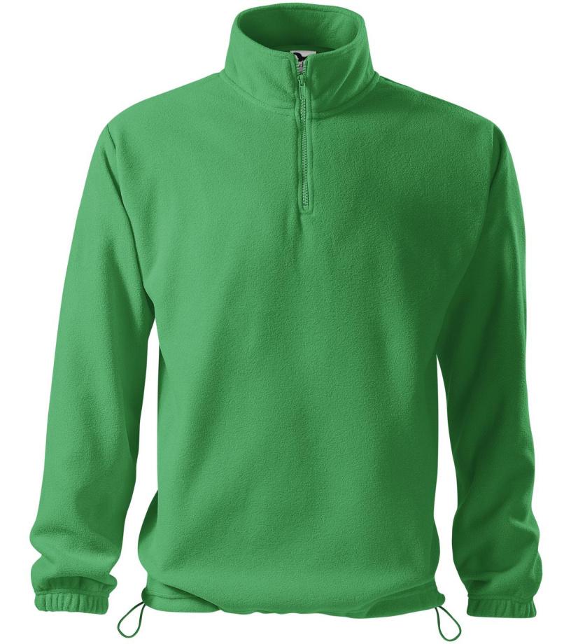 ADLER HORIZON Pánská fleece mikina 52016 středně zelená S