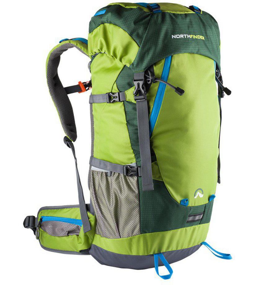 NORTHFINDER ANAPURNA Outdor batoh 40+5L BP-1001OR316 zelená