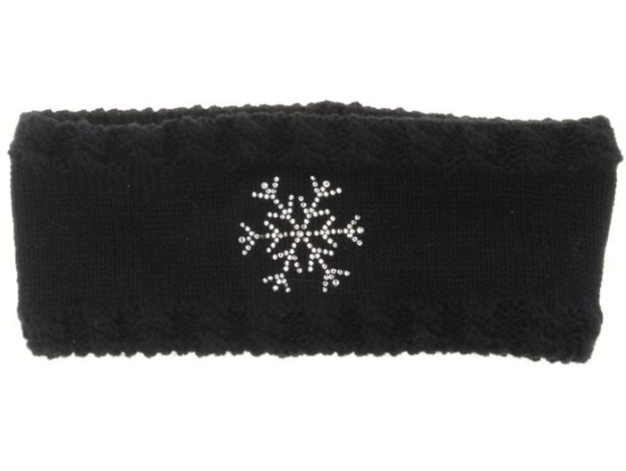 RELAX FLAKY Zimní čelenka RKH115A černá