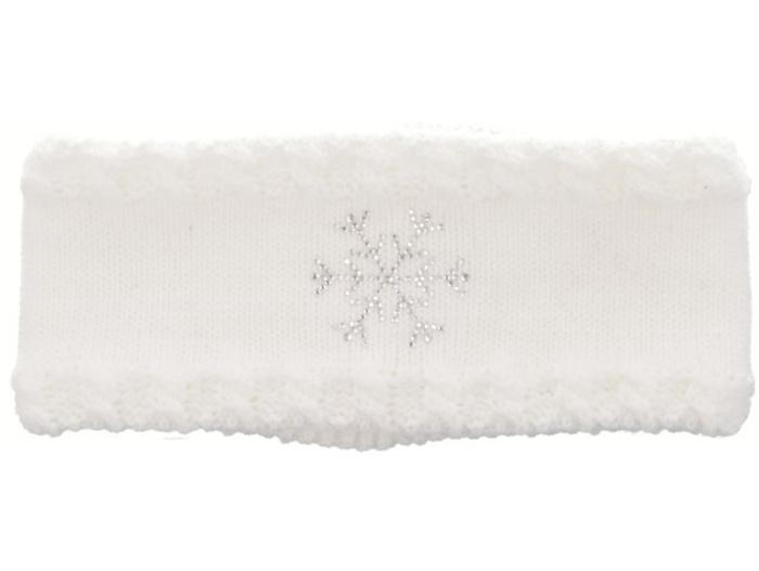 RELAX FLAKY Zimní čelenka RKH115B bílá