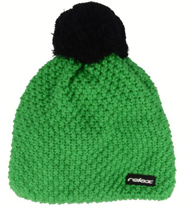 RELAX OMIC Zimní čepice RKH119B zelená
