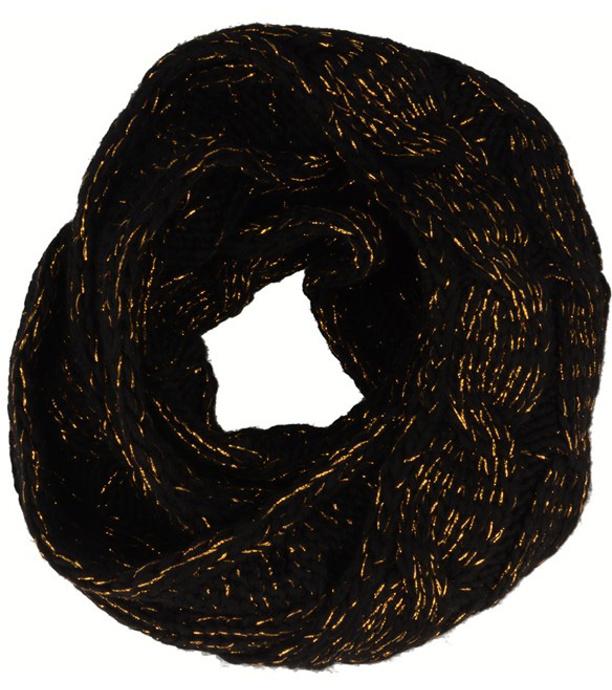 RELAX GOLDIE Zimní šála RKH122A černá