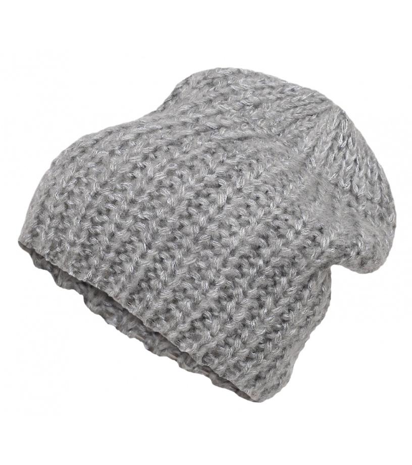 LOAP ZOKO Zimní čepice CSU1605T50T Lgt Melange 55