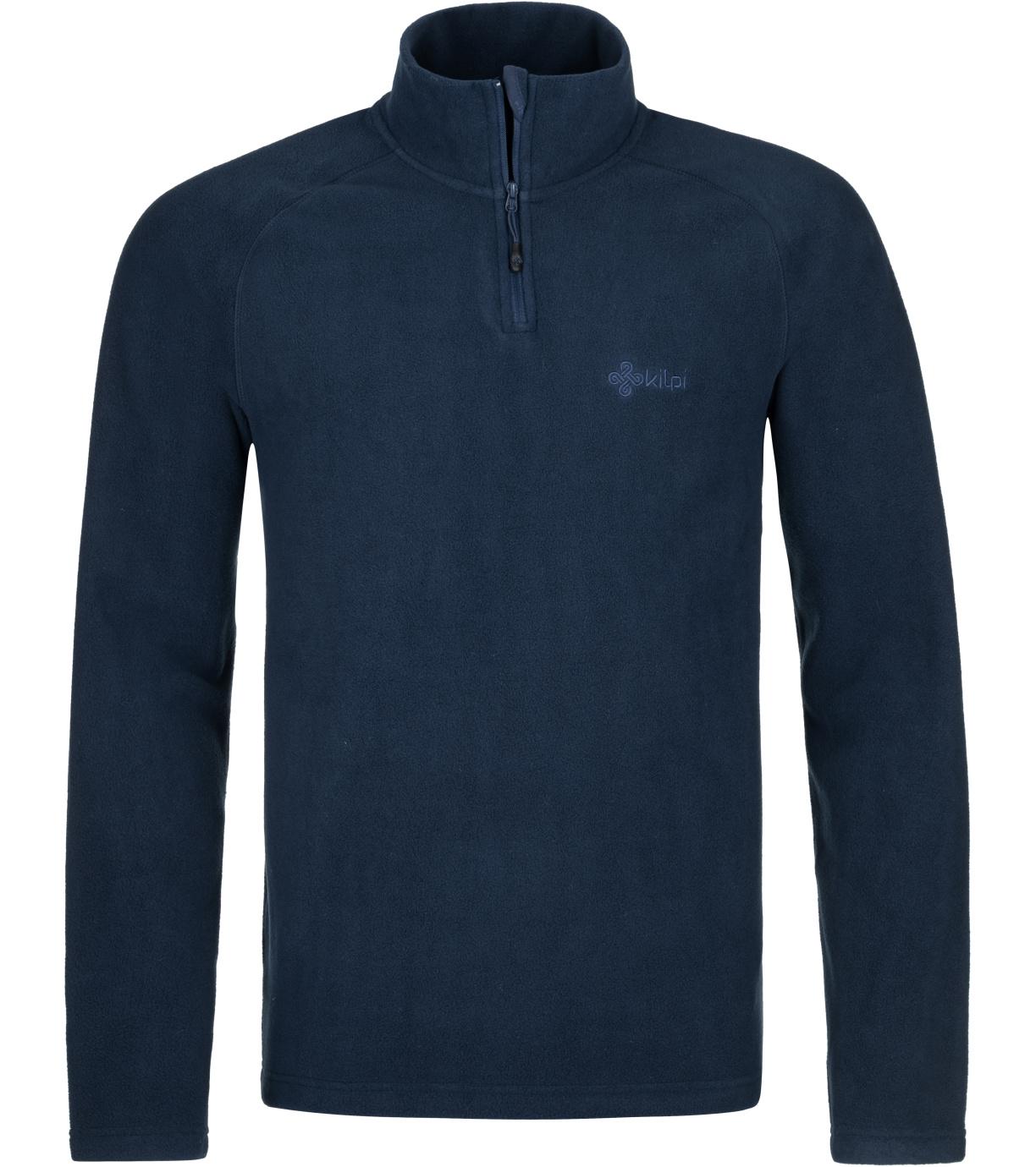 KILPI Pánská fleecová mikina ALMAGRE-M PM0019KIDBL Tmavě modrá M