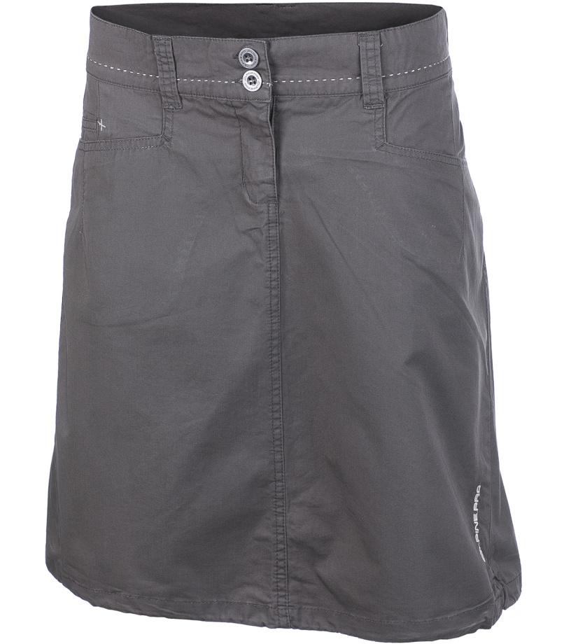 ALPINE PRO WINEMA Dámská sukně LSKG028122 steeple gray XS