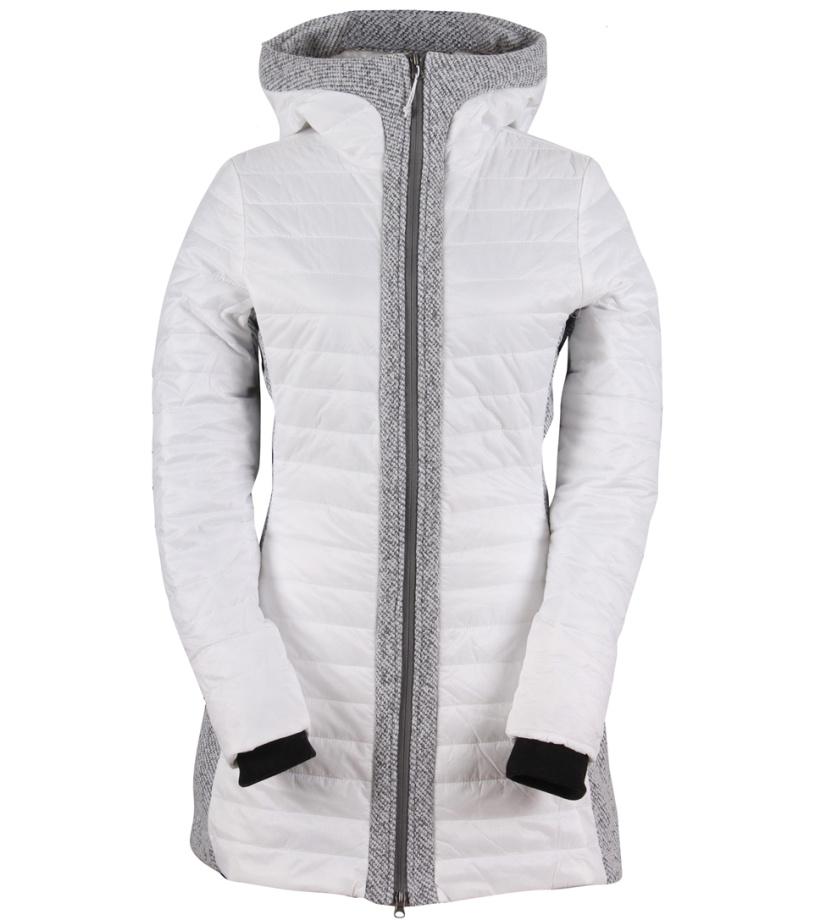 2117 OF SWEDEN Katthult Dámský zimní kabát 7617941020 White