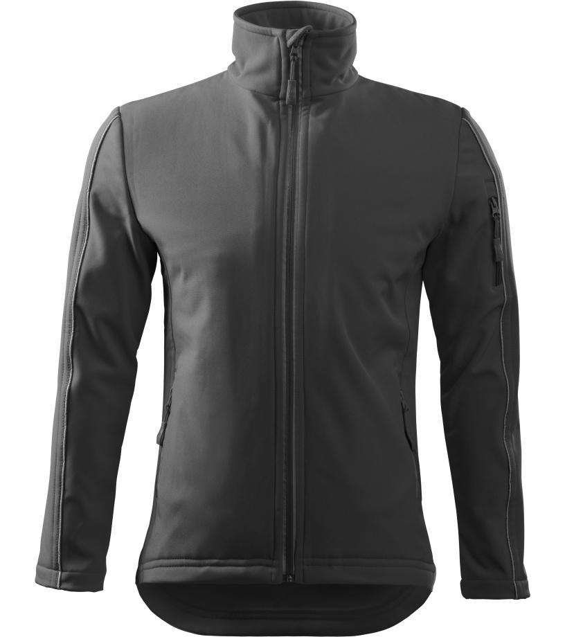 ADLER Softshell Jacket Pánská softshelll bunda 51136 ocelově šedá S
