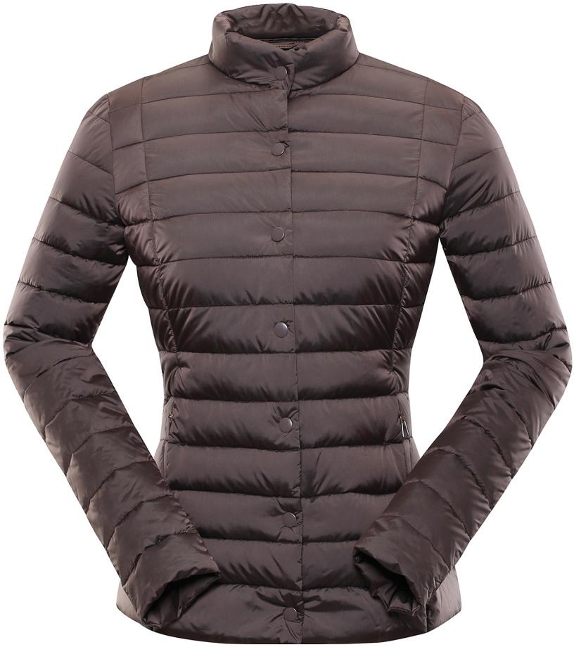 ALPINE PRO ROZA Dámská zimní bunda LJCP349985 peppercorn XL