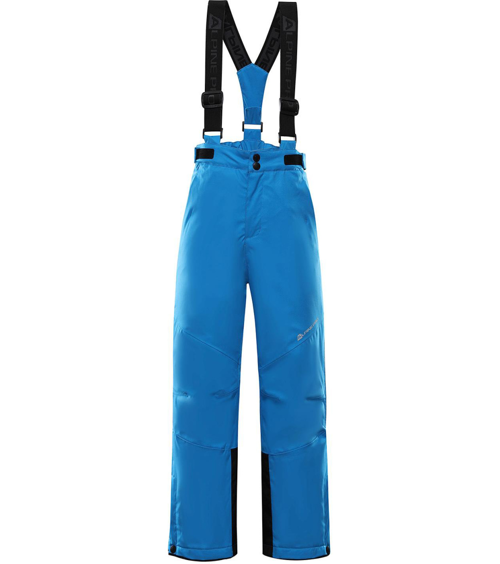 ALPINE PRO ANIKO 4 Dětské lyžařské kalhoty KPAS203674 Blue aster 128-134