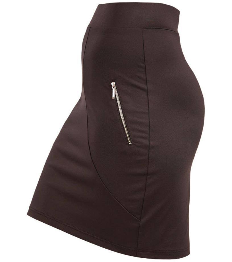 LITEX Sukně dámská do pasu. 55072901 černá XL