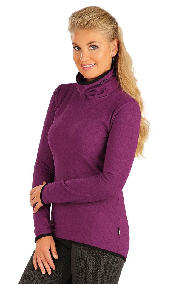 LITEX Rolák dámský s dlouhým rukávem. 55126716 fialová M bb58583a21