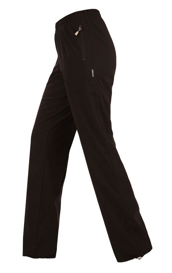 LITEX Kalhoty dámské zateplené - prodloužené. 99479901 černá