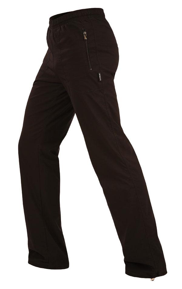LITEX Kalhoty pánské zateplené - prodloužené. 99481901 černá