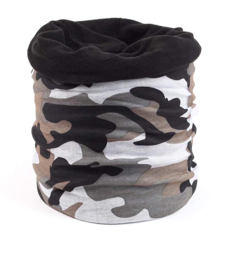 Finmark Multifunkční šátek s fleecem FSW-801
