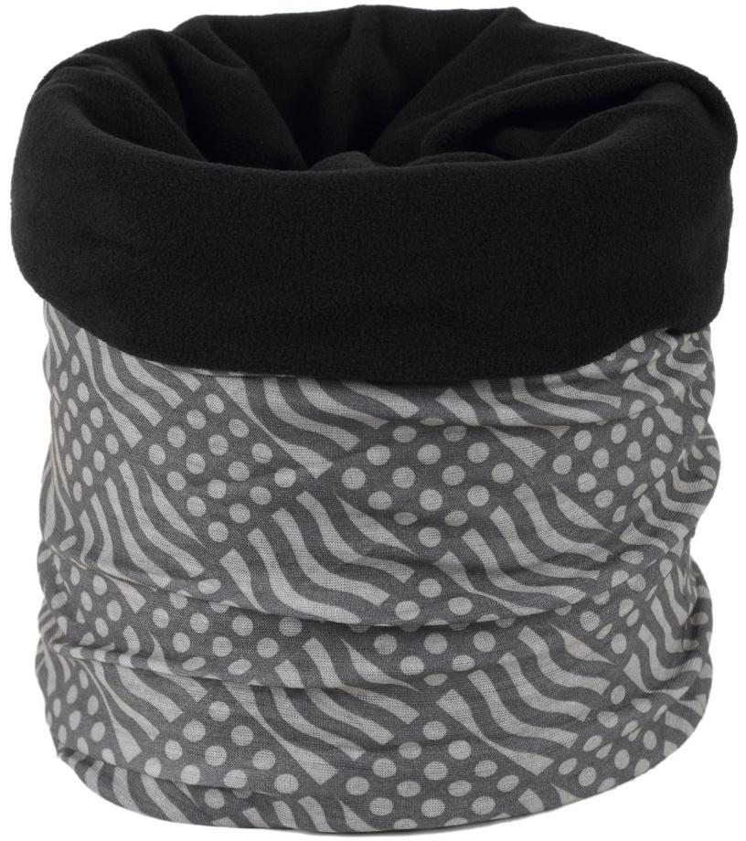 Finmark Multifunkční šátek s fleecem FSW-805