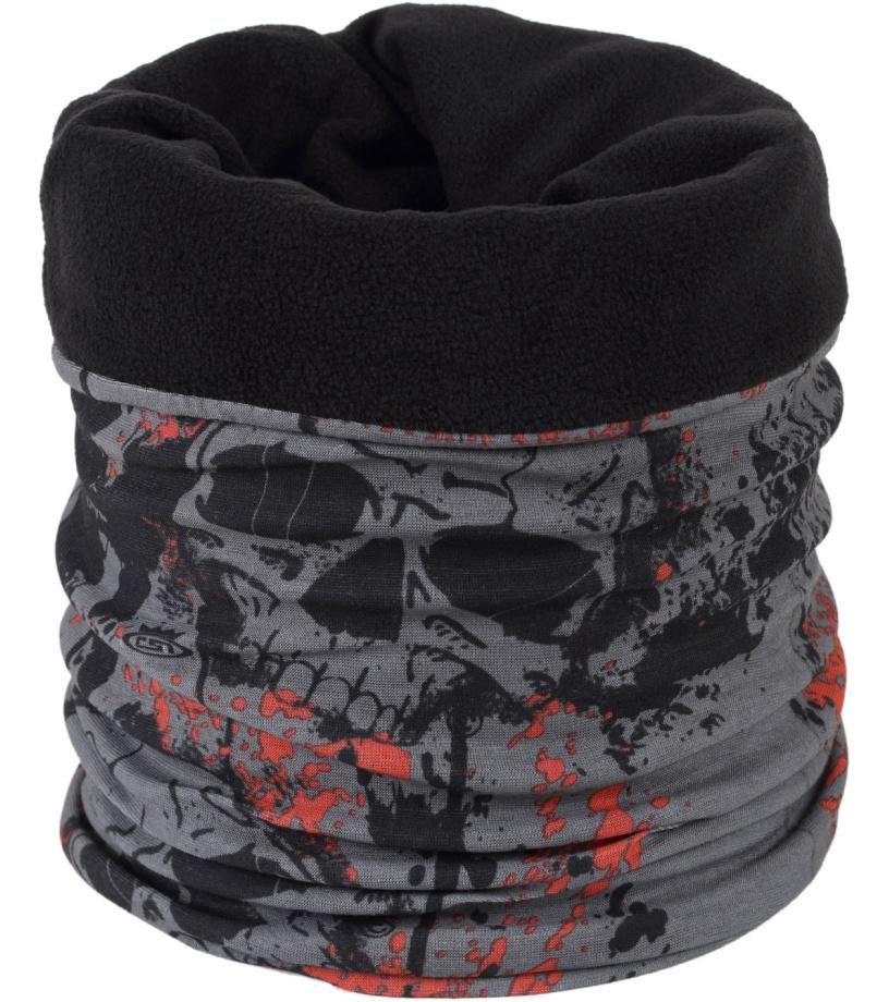 Finmark Multifunkční šátek s fleecem FSW-807