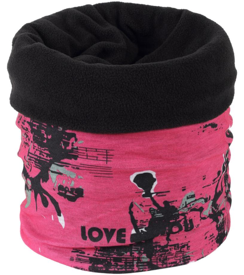 Finmark Multifunkční šátek s fleecem FSW-811
