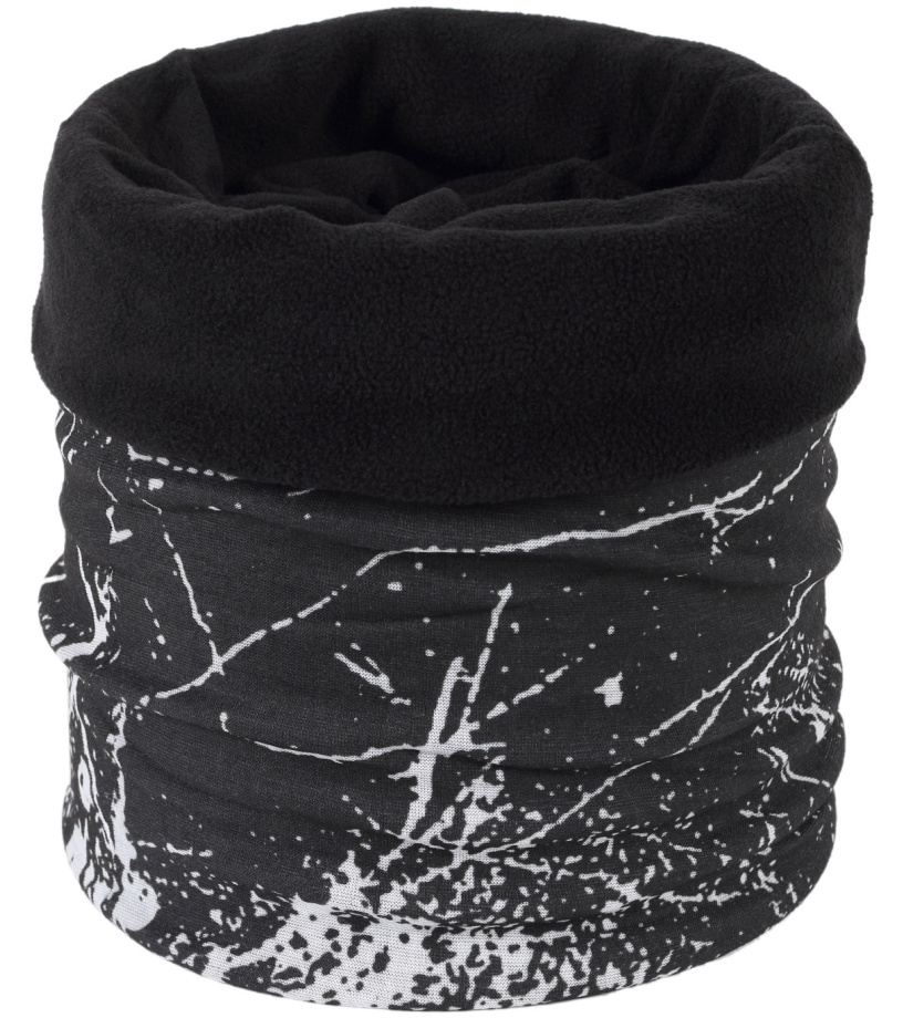 Finmark Multifunkční šátek s fleecem FSW-814