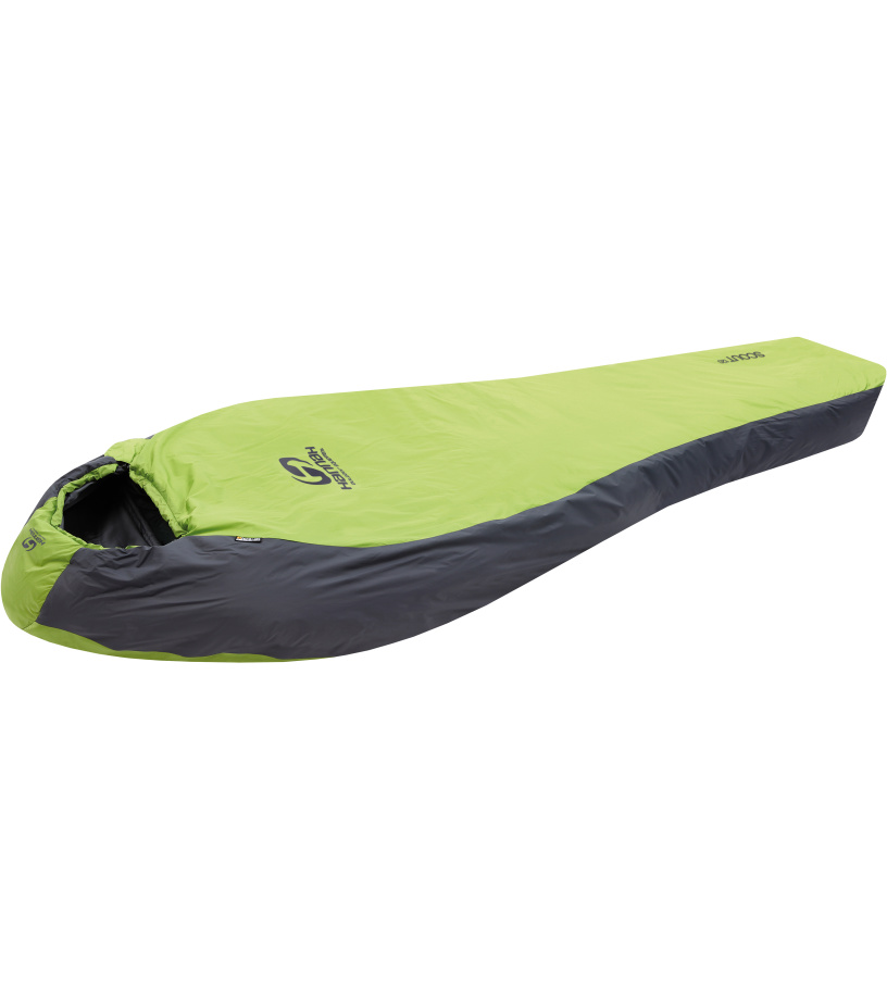 HANNAH Scout 120 Spací pytel 116HH0003SS03 Macaw green/graphite