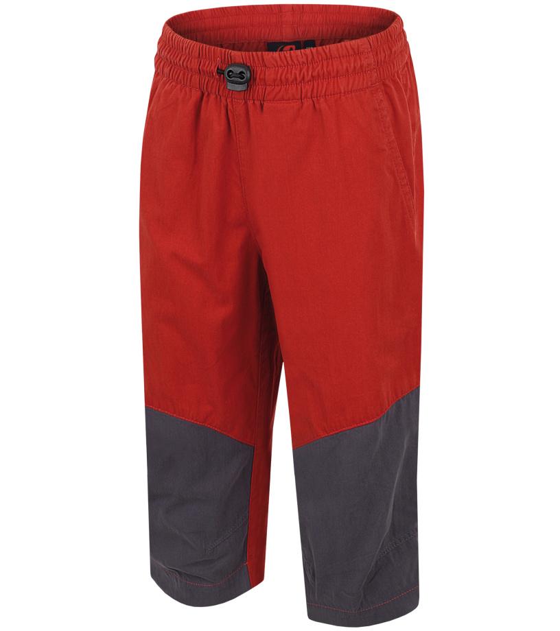 HANNAH Ruffy JR Dětské 3/4 kalhoty 116HH0020LK04 Ketchup/graphite