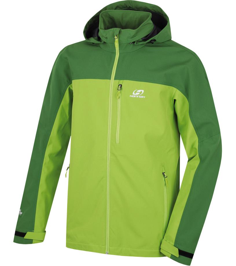 HANNAH Brolin Lite Pánská bunda 117HH0010SJ03 Treetop/lime green L