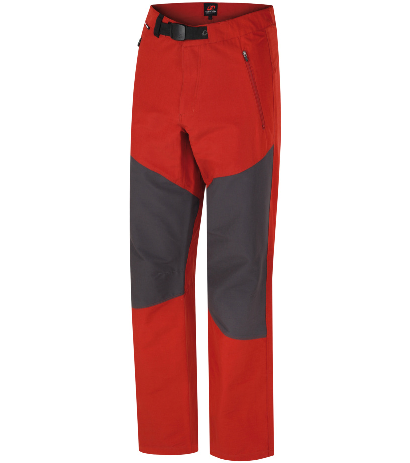 HANNAH Bedrock Pánské kalhoty 117HH0017LP03 Ketchup/graphite XL
