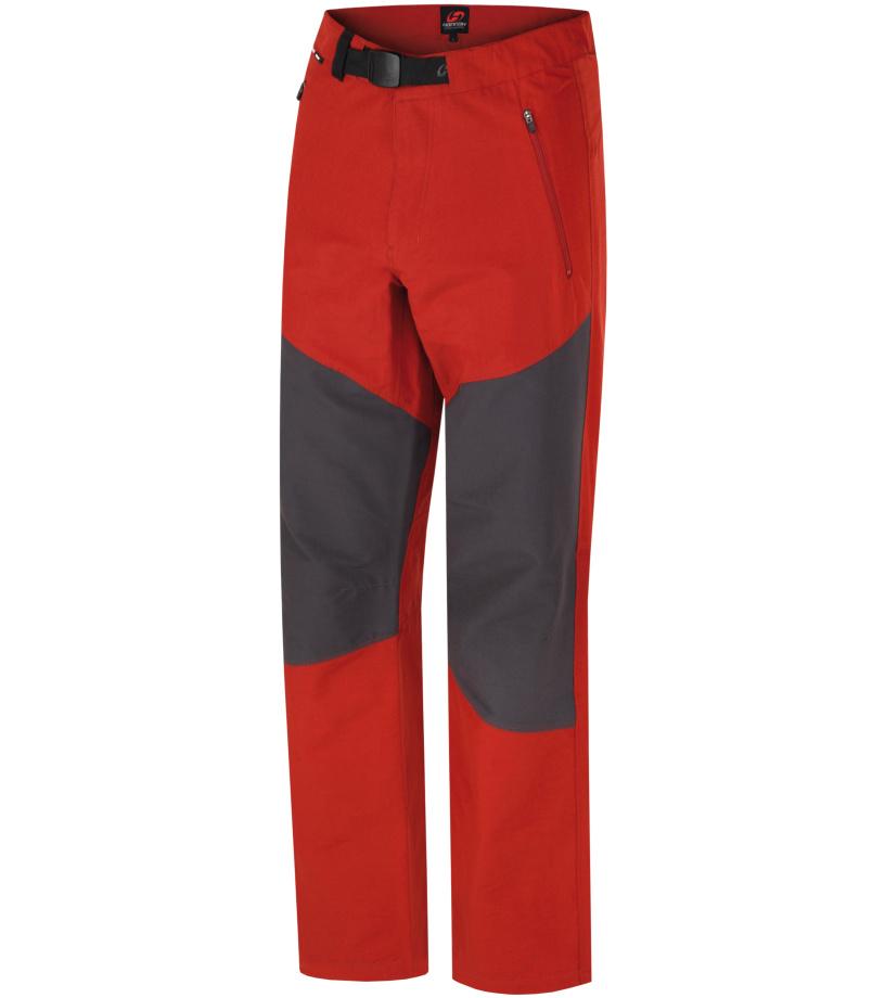 HANNAH Bedrock Pánské kalhoty 117HH0017LP03 Ketchup/graphite