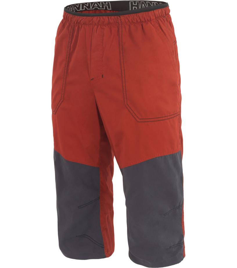 HANNAH Hug Pánské 3/4 kalhoty 117HH0055LC03 Ketchup/graphite