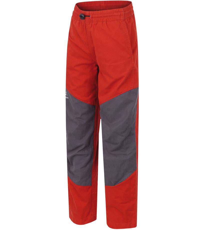 HANNAH Twin JR Dětské kalhoty 117HH0131LP05 Ketchup/graphite