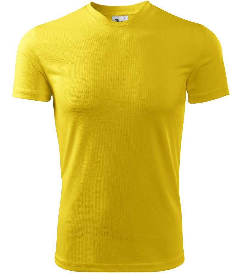 ADLER Fantasy Dětské triko 14704 žlutá 122