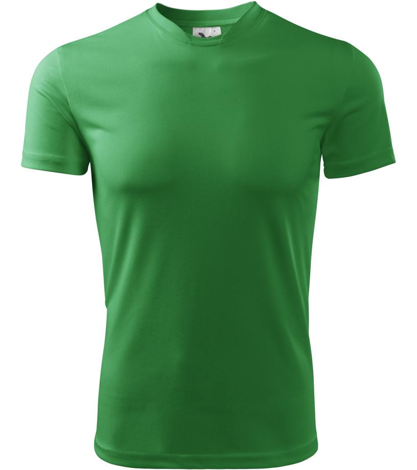 ADLER Fantasy Dětské triko 14716 středně zelená 146